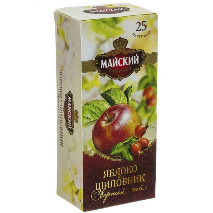 Чай Майский Яблоко-шиповник 25пак*2г