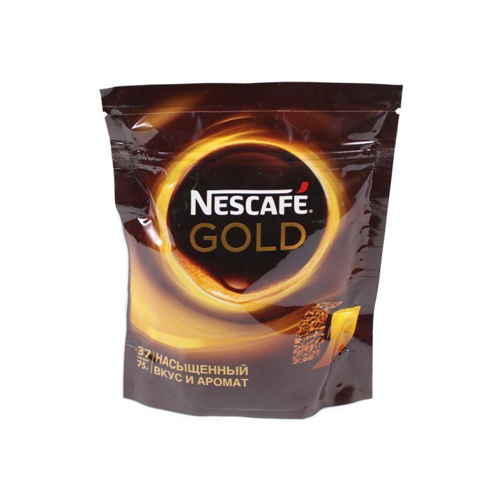 Кофе Нескафе Голд 75г пакет