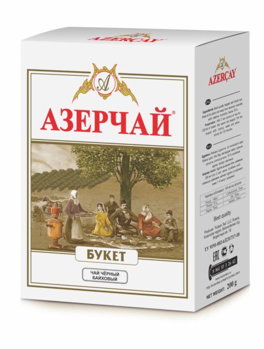 Чай Азерчай Букет 200г Кубань