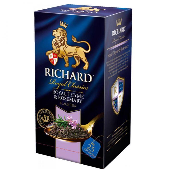 Чай Richard Royal Thyme&Rosemary 25пак*2г конверт (сашет)