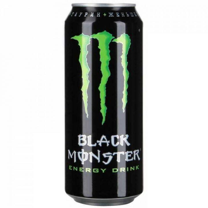 Напиток энерг Монстр Ультра Блэк 0,449л ж/б газ Кока-Кола