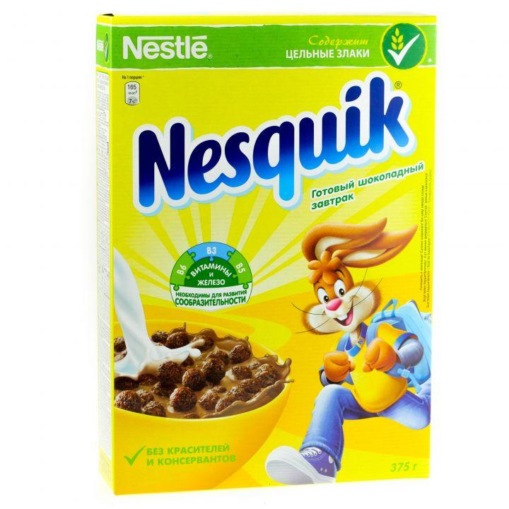 Завтрак Несквик шоколадный 375г Нестле