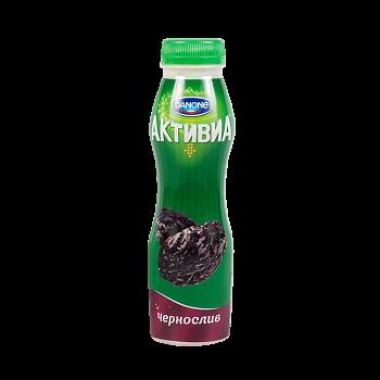 Биойогурт Активиа питьевой 2% 260г Чернослив Данон