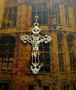 Позолоченный крупный крест (арт. 250308)