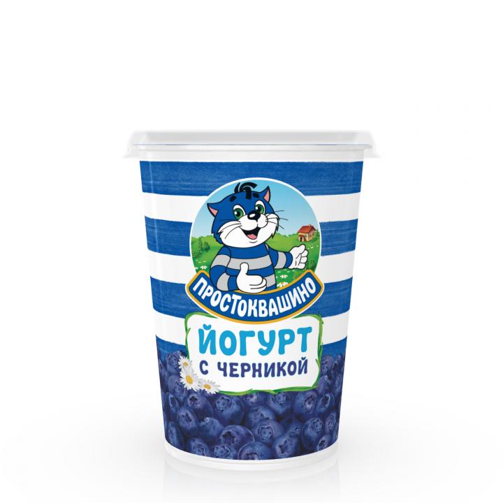 Йогурт Простоквашино 2,5% 480г Черника Юнимилк