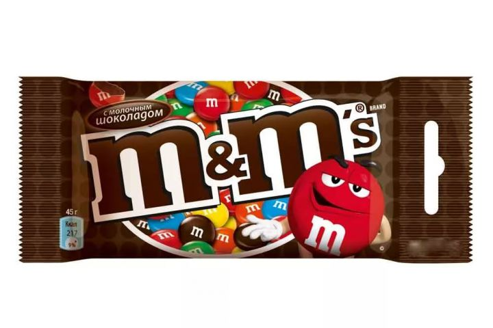 Драже M&Ms шоколадный 45г