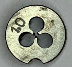 Плашка М1,0х0,25 Р6М5 ГОСТ9740-71