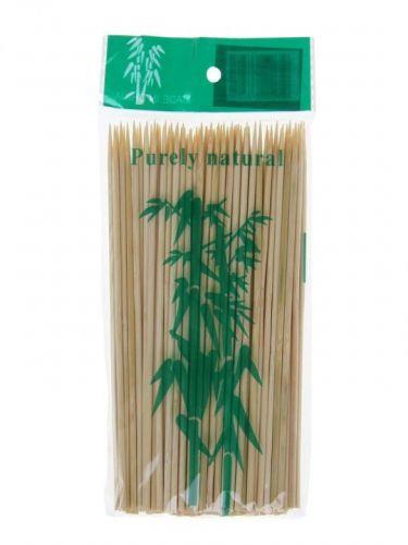 Шпажки-шампуры деревянные (бамбуковые) 100шт 20см