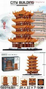 Конструктор LEZI Architecture  Храм LZ8003  4032 дет