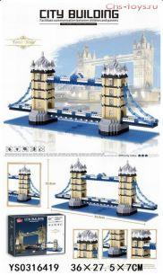 Конструктор LEZI Architecture Тауэрский мост LZ8007 (Аналог LEGO Creator 10214) 1936 дет
