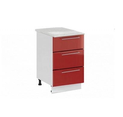 Шкаф нижний с 3 ящиками Ксения ШН3Я 600