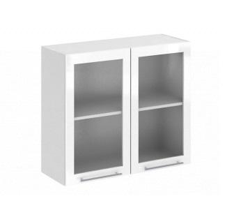 Шкаф верхний со стеклом Ксения ШВС 800
