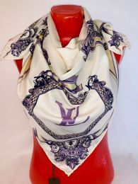 Шелковый платок Hermes, арт 104