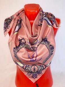 Шелковый платок Hermes, арт 105