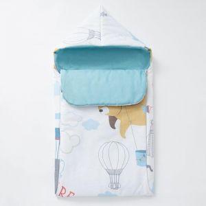 """Одеяло-конверт """"Крошка Я"""" Аviator, 39х75 см, 100% хлопок 5100074"""