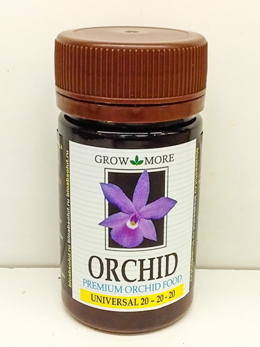 Удобрение для орхидей GROW MORE ORCHID UNIVERSAL FORMULA 20-20-20