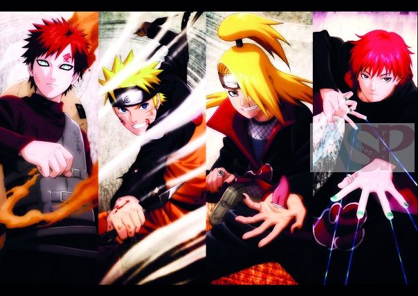 Плакат Naruto