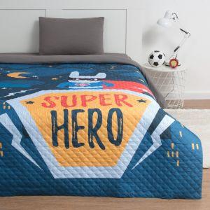 """Покрывало """"Этель"""" 1,5 сп Super hero, 145*210 см, микрофибра   4527200"""