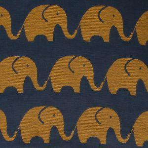"""Покрывало детское """"Этелька"""" Слоники размер 110х150 см, хлопок 100%, цвет синий, 210 г/м?"""