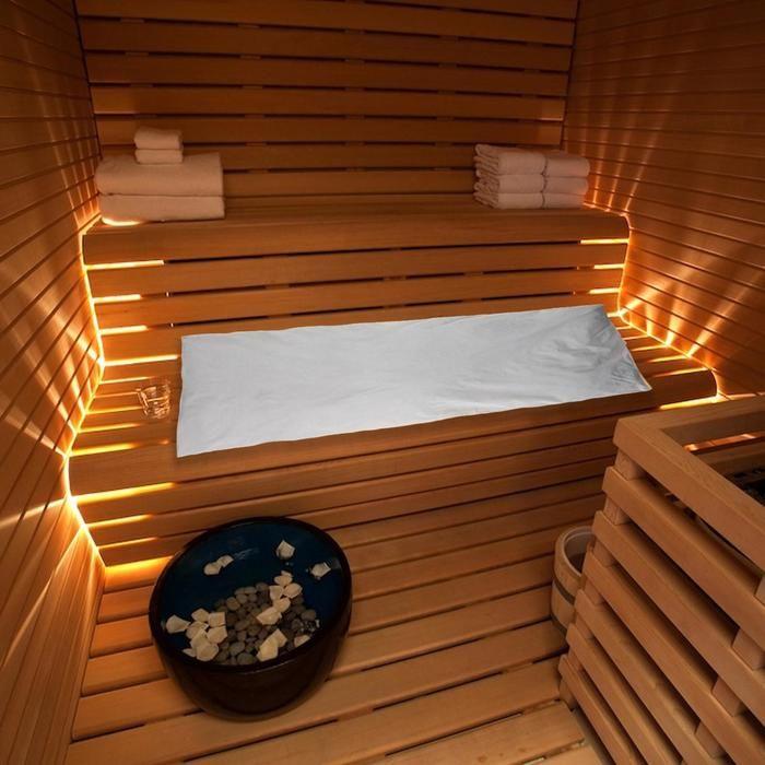Матрас для бани с луговым сеном 80х200 см 5141037
