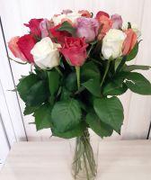 21 роза Микс (60 см)