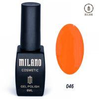Гель-лак Milano Cosmetic №046, 8 мл
