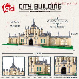Конструктор LEZI Architecture Университет Кембридж LZ8030  4799 дет