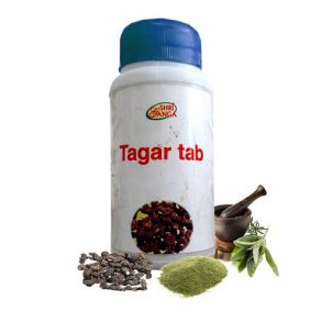 Тагар таб Шри Ганга Tagar Shri Ganga -индийская валериана 120 таблеток.