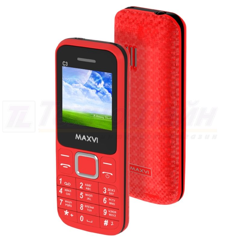 Maxvi C3 Red