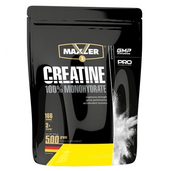Maxler Creatine Monohydrate 500 г (пакет)