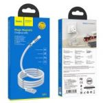 Кабель USB  2.4A HOCO U91 (iOS Lighting) 1м