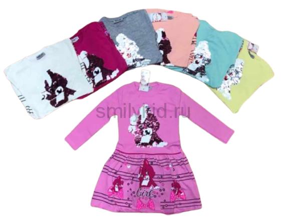 Платье детское оптом | 4 шт