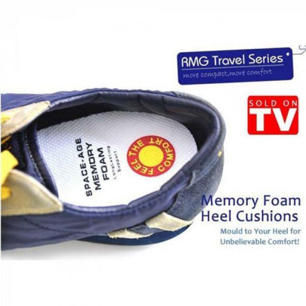 Стельки-подушки с памятью MEMORY FOAM HEEL CUSHIONS