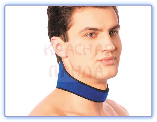 Повязка на шею с точечным нанесением турмалина TianDe