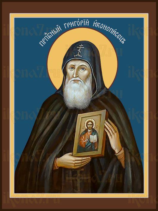 Икона Григорий Печерский иконописец