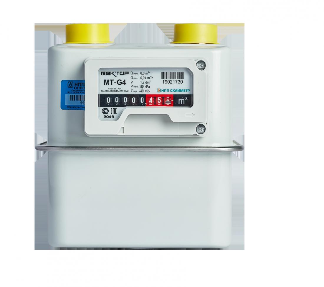 Газовый счетчик ВЕКТОР-МТ G4