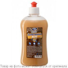 CLEAN ROOM.Жидкое хозяйственное мыло 72% 500мл, шт