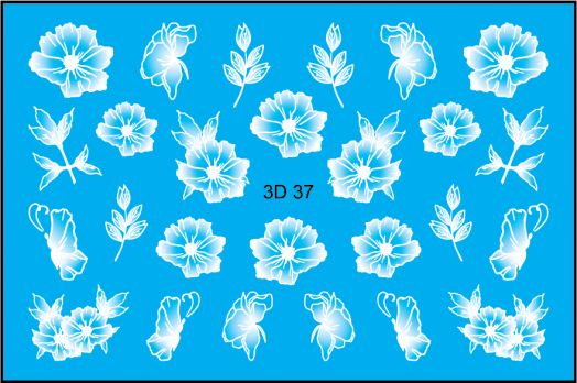 FREEDECOR 3D слайдер дизайн Арт. 3D-037 white