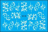 FREEDECOR 3D слайдер дизайн Арт. 3D-039 white