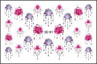 FREEDECOR 3D слайдер дизайн Арт. 3D-091 Цветы