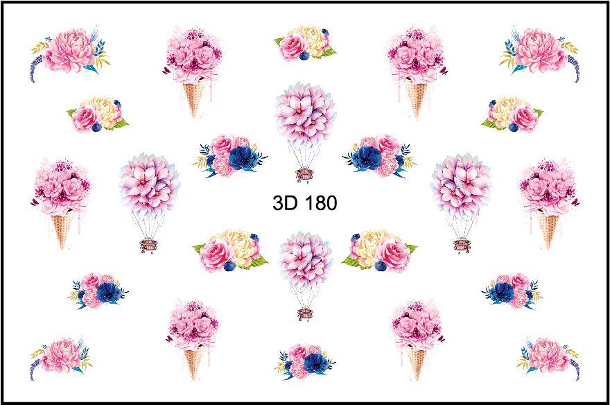 FREEDECOR 3D слайдер дизайн Арт. 3D-180 Цветы