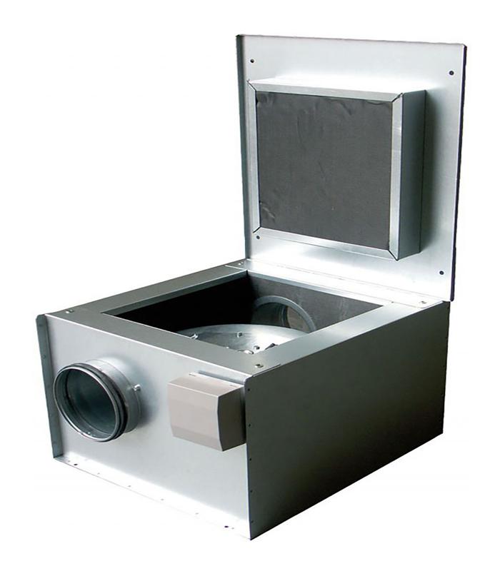 Канальный вентилятор KVK 125 Ins. Circ. duct fan