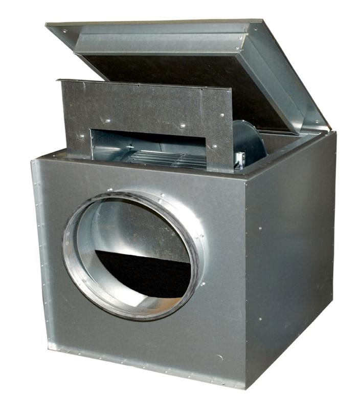 Канальный вентилятор KVK 200 Ins. Circ. duct fan