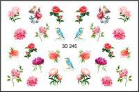 FREEDECOR 3D слайдер дизайн Арт. 3D-245 Цветы