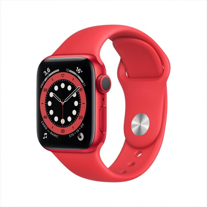 Apple Watch Series 6 GPS 40mm (PRODUCT) RED