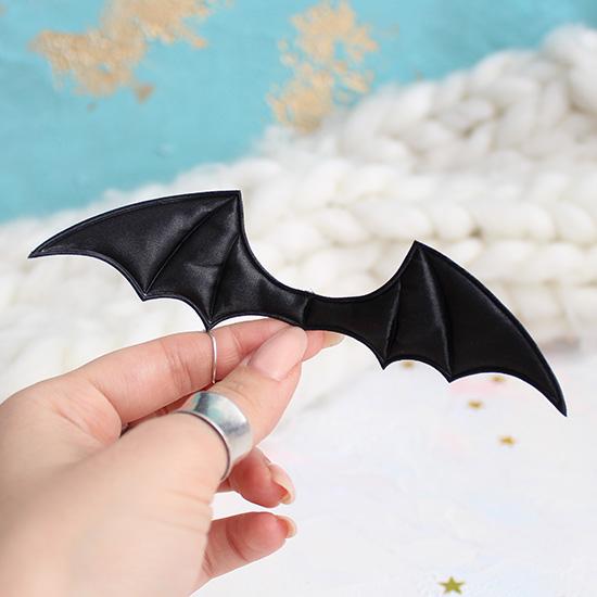 Кукольная миниатюра - Крылышки летучей мышки 14 см