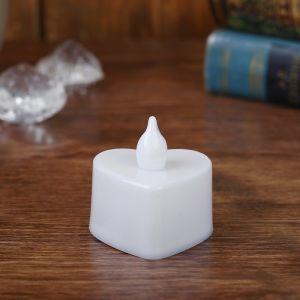Свеча светодиодная «Сердечко», горит разными цветами