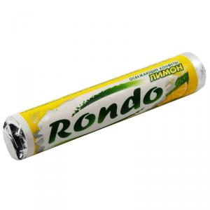 Конфеты жевательные RONDO 30г Лимон/мята