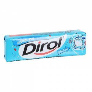 Жевательная резинка DIROL 13,6г Ледяная мята