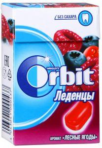Леденцы ORBIT 35г Лесные ягоды